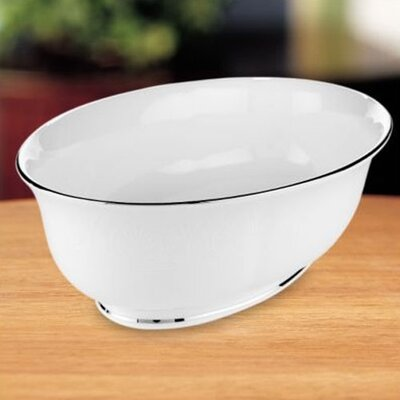 "Lenox Hannah Platinum Open 9.5"" Vegetable Bowl"