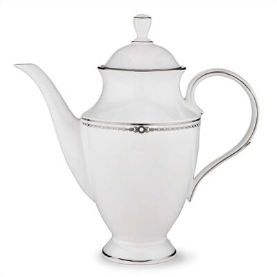 Lenox Pearl Platinum Coffeepot with Lid