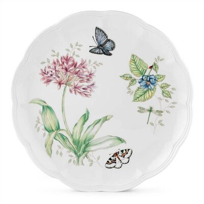 Lenox Butterfly Meadow Blue Butterfly Dinner Plate