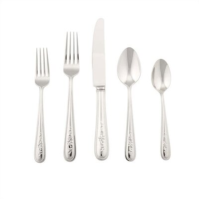 Lenox Opal Innocence 5 Piece Flatware Set