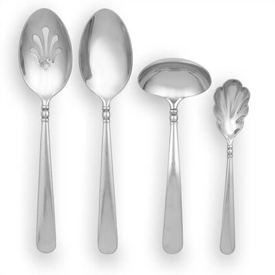 Pearl Platinum 4 - Piece Stainless Hostess Set