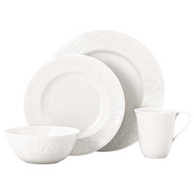 Opal Innocence Carved Dinnerware Set