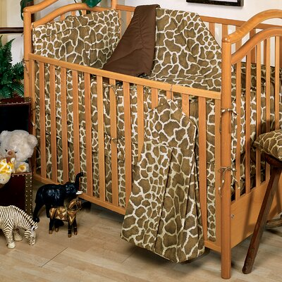 Karin Maki Giraffe Crib Bedding Set