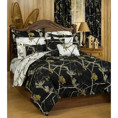 Realtree Bedding Camo Bedding Collection in Black