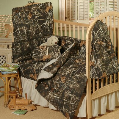 Realtree Bedding Max-4 Crib Bedding Collection