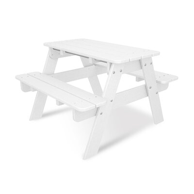 POLYWOOD® Kids Rectangular Picnic Table