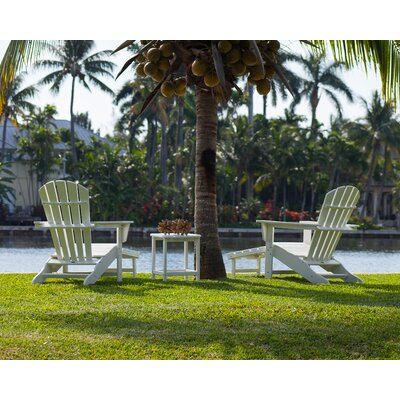 POLYWOOD® South Beach Ultimate 3 Piece Adirondack Seating Group
