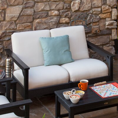 POLYWOOD® Club Settee Loveseat