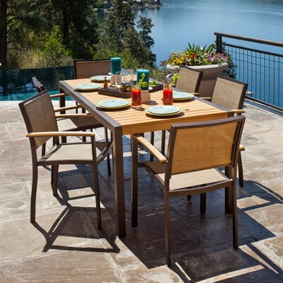 POLYWOOD® Bayline™ 7 Piece Dining Set