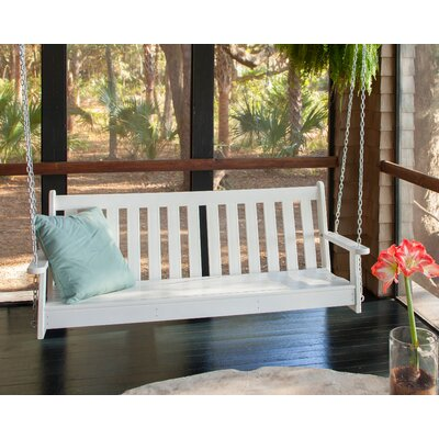 POLYWOOD® Vineyard Porch Swing