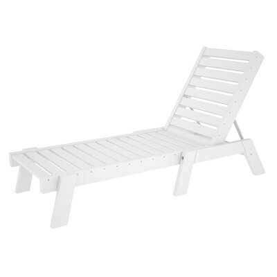 POLYWOOD® Captain Chaise Lounge