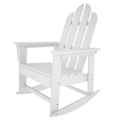 POLYWOOD® Long Island Adirondack Rocking Chair