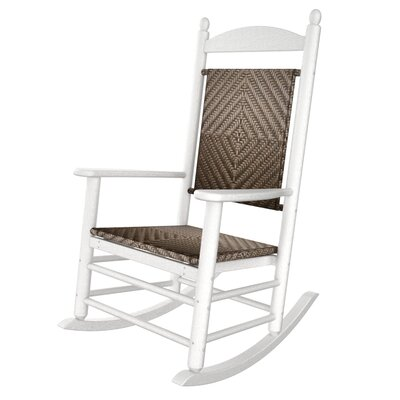 POLYWOOD® Rocker Jefferson Woven Chair