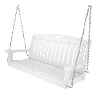 POLYWOOD® Nautical Porch Swing