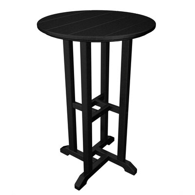POLYWOOD® Traditional Round Counter Bar Table