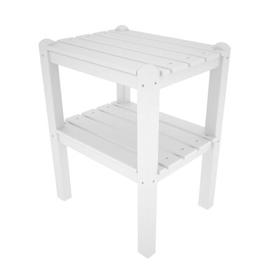 POLYWOOD® 12-Shelf Side Table