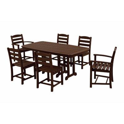 POLYWOOD® La Casa Cafe 7 Piece Dining Set