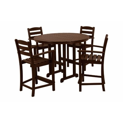 POLYWOOD® La Casa Cafe 5 Piece Counter Set
