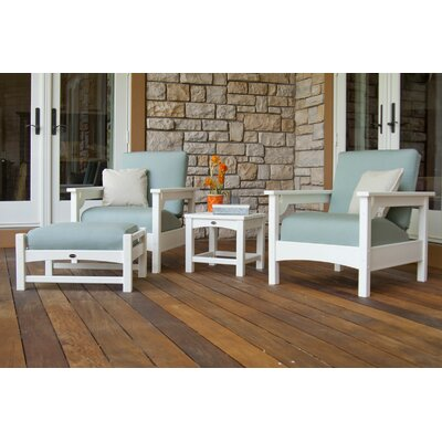 POLYWOOD® Club 4 Piece Deep Seating Set