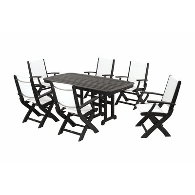 POLYWOOD® Coastal 7 Piece Dining Set