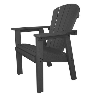 POLYWOOD® Seashell Adirondack Rocking Chair