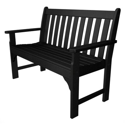 POLYWOOD® Vineyard Plastic Garden Bench