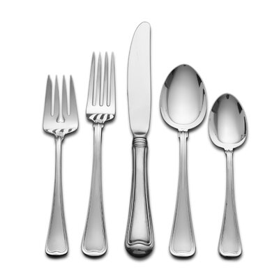 Gorham Old French 5 Piece Flatware Set with Pasta Server