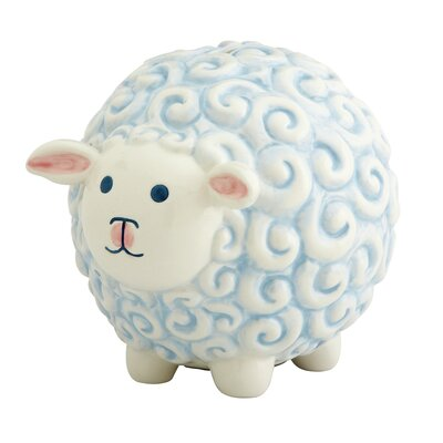 Gorham Merry Go Round Little Boy Sheep Bank