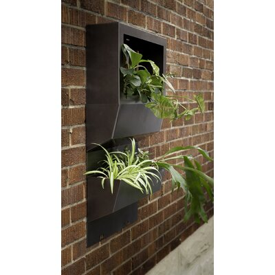 Decorpro Natur Garden Wall System Rectangular Planters (Set of 4)