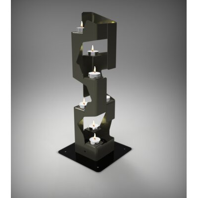 Decorpro Mirage Steel Tealight Candle Holder