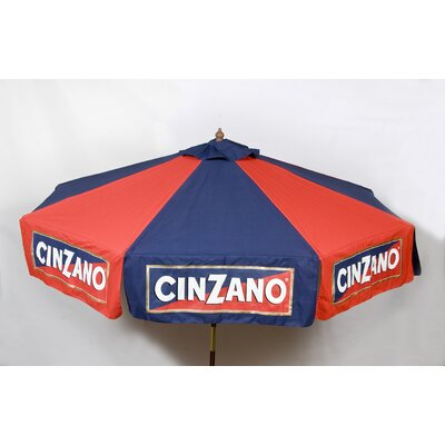 Parasol 6' Cinzano Beach Umbrella