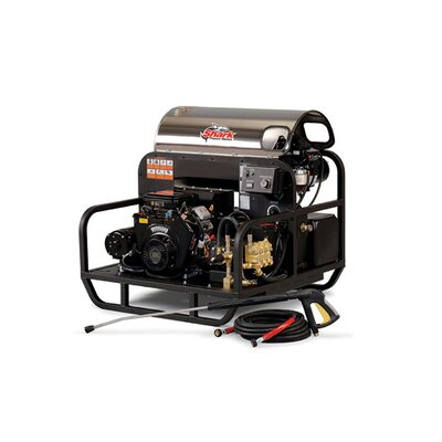 Shark Pressure Washers SSG Series 5.6 GPM Honda GX660 Belt Drive Hot Water Pressure Washer