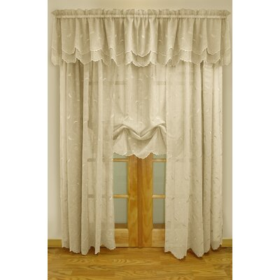 Commonwealth Home Fashions Hathaway Exquisite Scroll Motif Window Treatment Collection