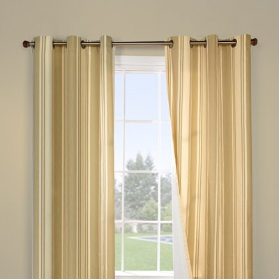 Commonwealth Home Fashions Weathermate Broad Stripe Window Treatment Collection