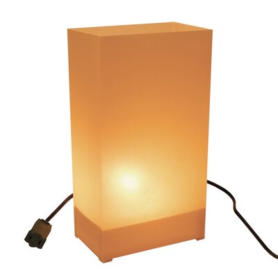 Luminarias 10 Count Electric Luminary Kit in Tan/Kraft