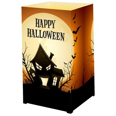 Luminarias Haunted House Tabletop Lanterns (Set of 6)