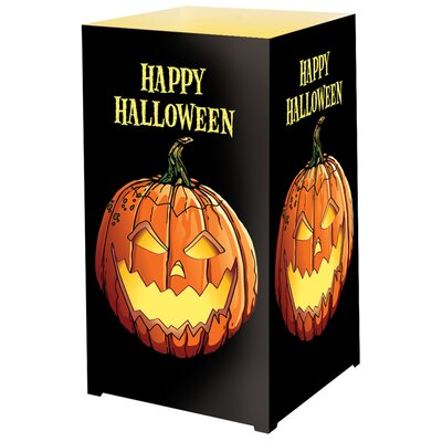 Luminarias Jack O'Lantern Tabletop Lanterns (Set of 12)