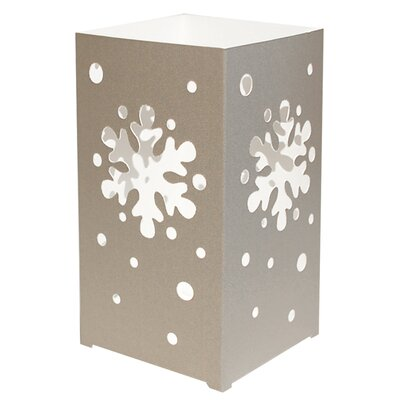 Luminarias Snowflake Tabletop Lanterns (Set of 12)