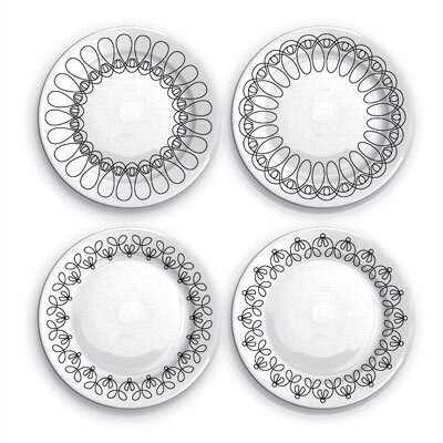 notNeutral Ribbon Salad Plate Set