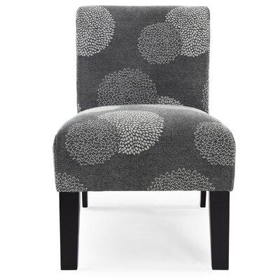 DHI Deco Sunflower Fabric Slipper Chair