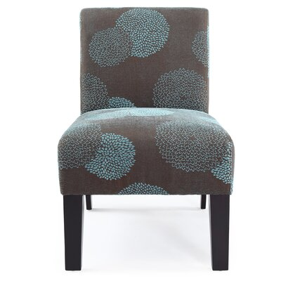 DHI Deco Sunflower Fabric Slipper Chair