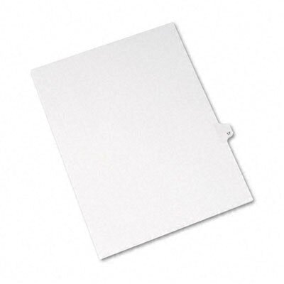 Avery White Legal Index Dividers