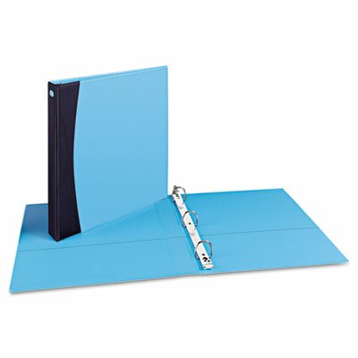 Avery Comfort Touch Durable View Binder with EZ-Turn Ring
