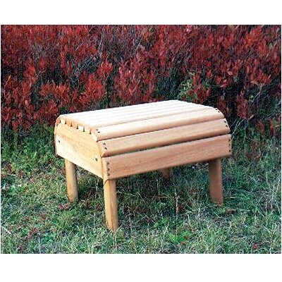 Hyre's Country Haven Adirondack Footrest/Endtable
