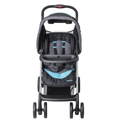 Evenflo JourneyLite Koi Travel System with Embrace Infant Car Seat