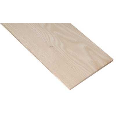 "Waddell 1/4"" X 2-1/2"" X 24"" Oak Project Board PB19503"