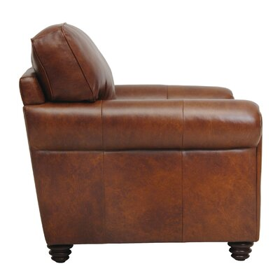 Luke Leather Andrew Italian Leather Chair