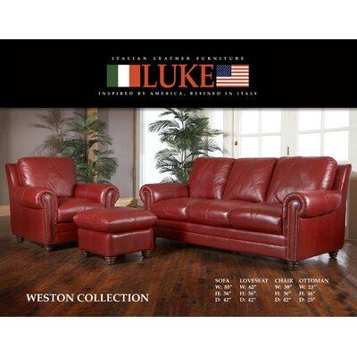 Weston Leather Sofa Wayfair