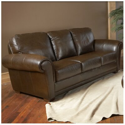 Mark Leather Sofa
