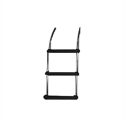 Rave Sports Water Trampoline 3 Step Aluminum Ladder